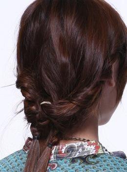 发型步骤二
