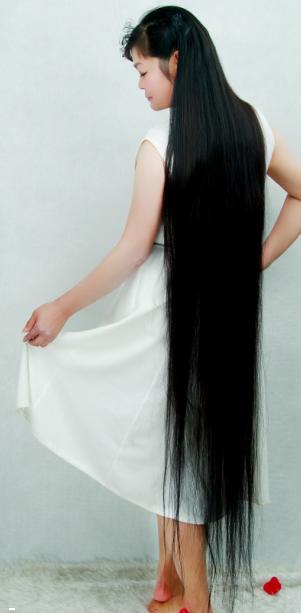 安徽宣城长发女赵锦屏图片