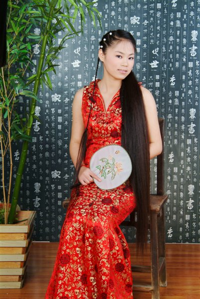 中国古代旗袍装美女图片-美女精彩图片-爆