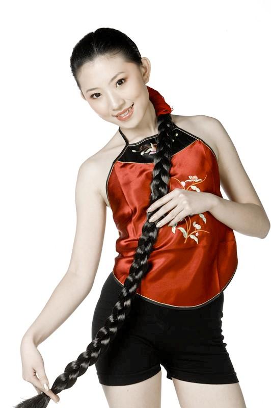 160cm的长发-15 下一组图片: 黑龙江大庆张大姐 图片录入:中国长发网图片