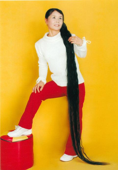 吉林长发女姜越荣
