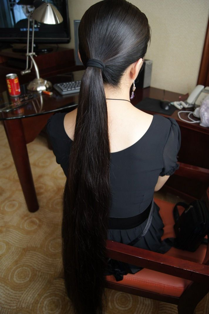 小魔女的水润秀发 中国长发网