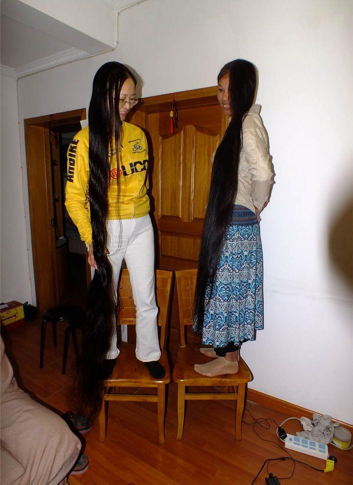 新发现的长发女 - [中国长发网]