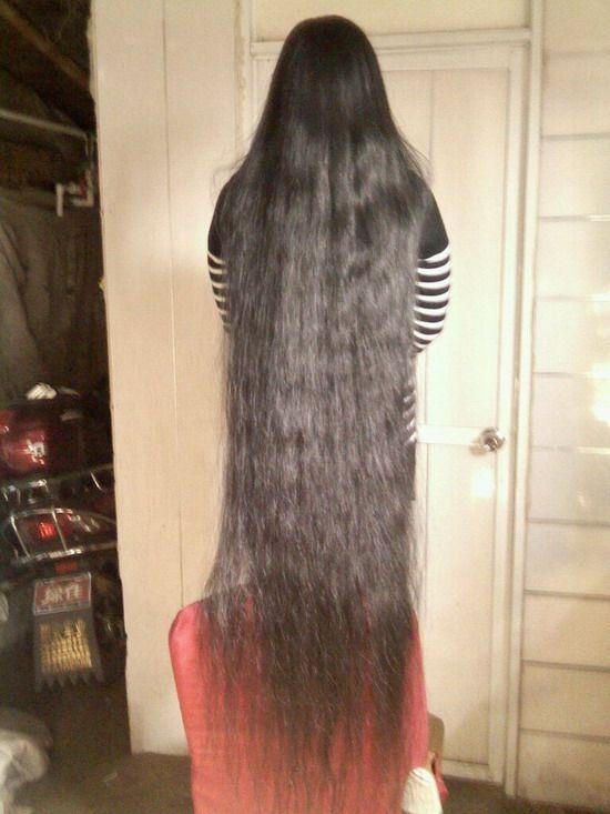 丰厚的超长发 - [中国长发网]