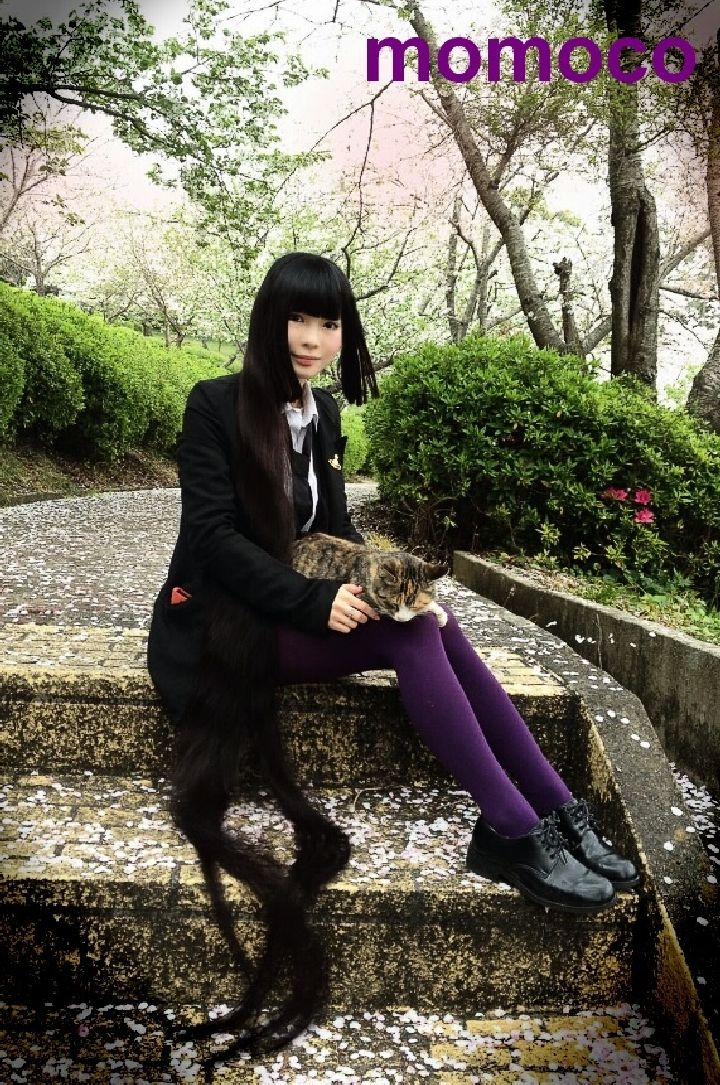 日本90后长发美女momoco