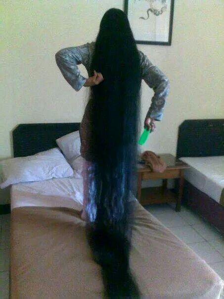 印尼超级长发女 中国长发网