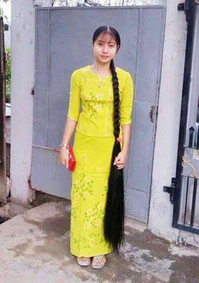 缅甸长发女:亚洲版长发公主 新增6张图片在第5页 中国长发网