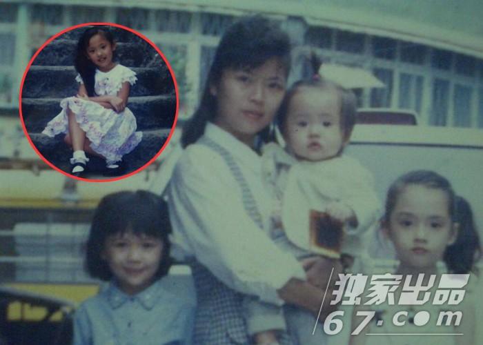 郭碧婷童年,短发和长发美照曝光 - [中国长发网]