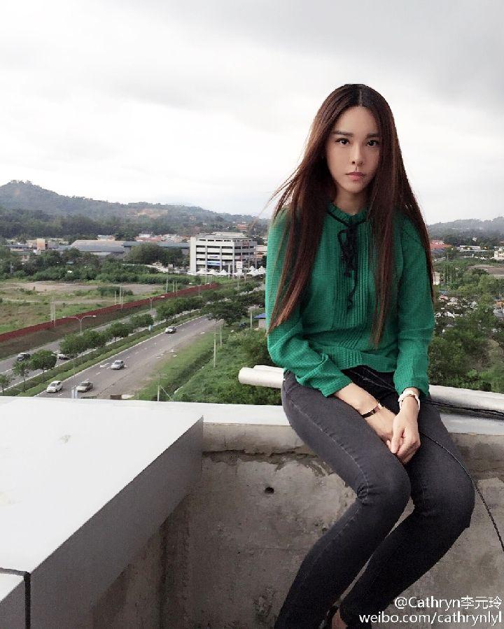 马来西亚长发美女李元玲 - [中国长发网]