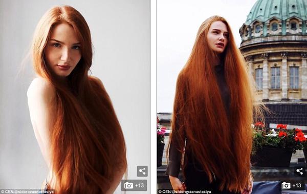 中国长发网 长发图片 外国长发精选 >> 正文    今年23岁的俄罗斯女孩